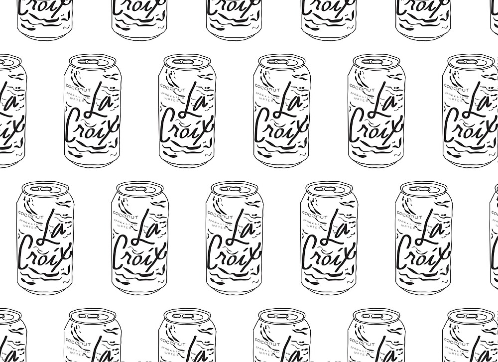 La Croix in Black and White by Sawyer Wilson