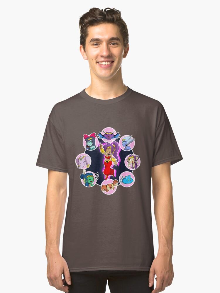 Shantae Half Genie Hero Classic T-Shirt Front