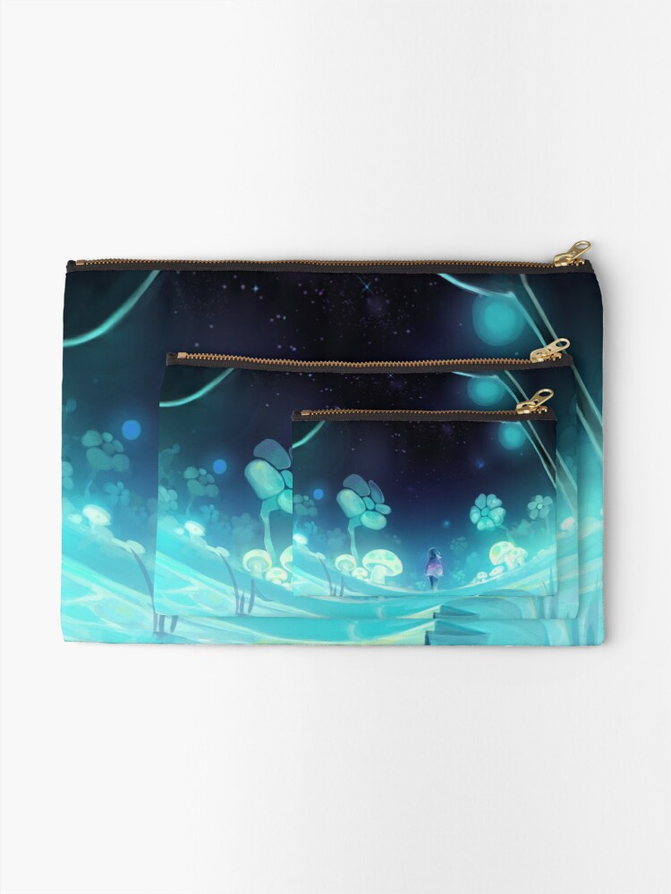 Alternate view of waterfall 3/3 Zipper Pouch