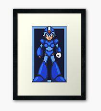 Mega Man X (SNES) Framed Print