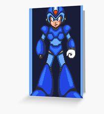 Mega Man X (SNES) Greeting Card