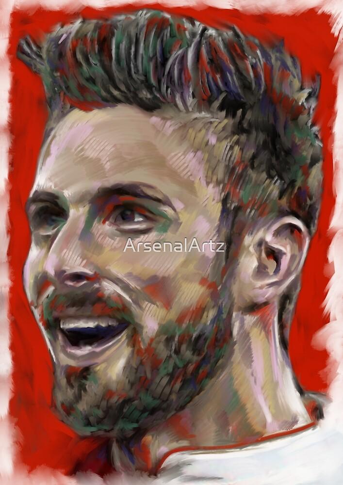 The Joy of Giroud by ArsenalArtz