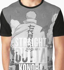 Straight outta Konoha Graphic T-Shirt