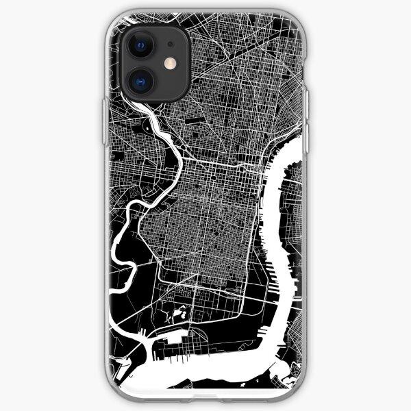 Philadelphia (Schwarz) iPhone Flexible Hülle