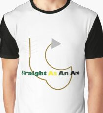 Straight as an Aro Graphic T-Shirt