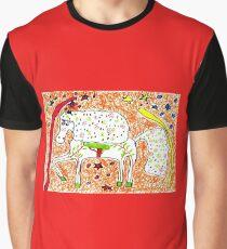 Magic fantasy horse, cute kids drawing Graphic T-Shirt