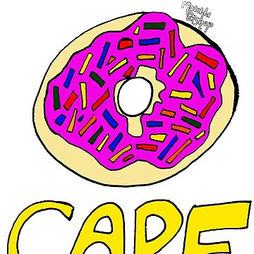 I Donut Care by matildabishop