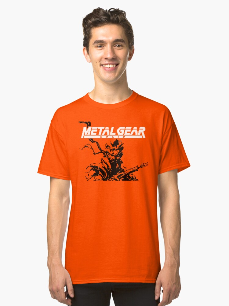 Metal Gear Ghost Babel (GBC Title Screen) Classic T-Shirt Front