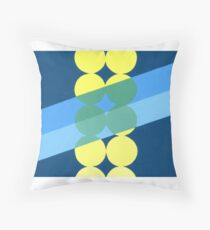 Abstract transparency design #2 Throw Pillow