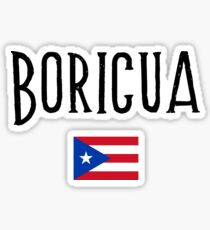 Boricua  Sticker