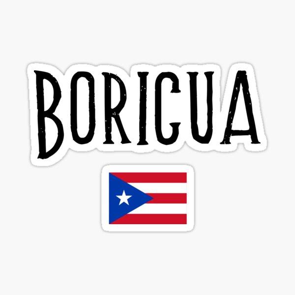 Boricua  Sticker