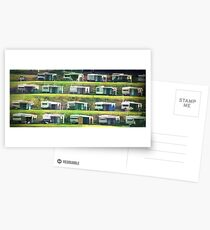 Caravans on the Hill Postcards