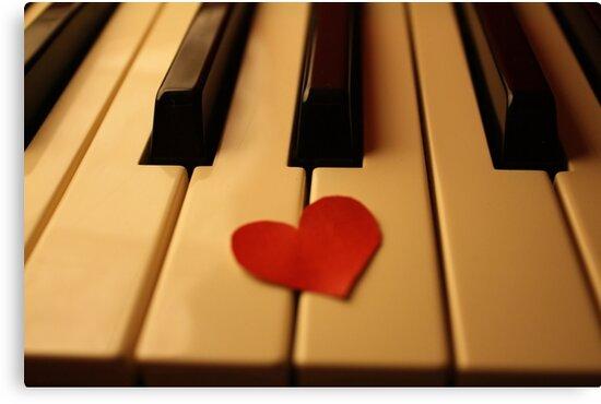Piano love by Michael Stocks