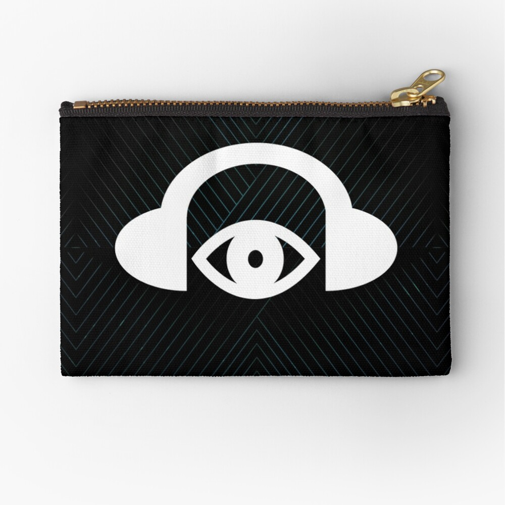 The Sights And Sounds Festival Lines Zipper Pouch