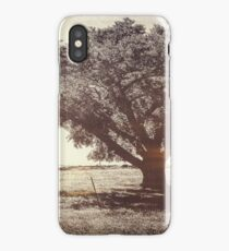 The Old Rock Elm iPhone Case
