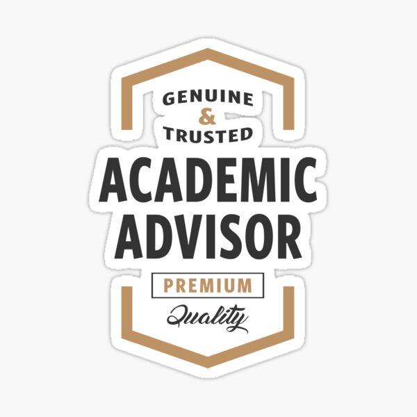 Academic Advisor Logo Tees Sticker