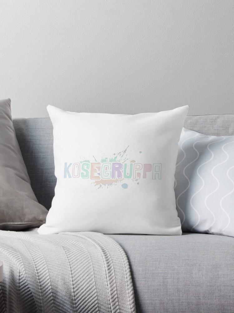 SKAM - Kosegruppa Pillow by paintcake