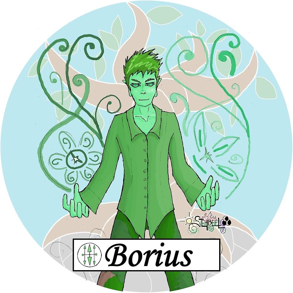 Borius - God of Plant Energy by James Shelton