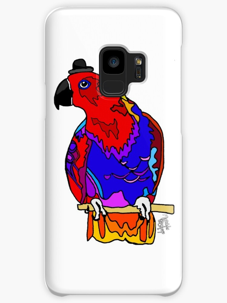 Graphic Eclectus Parrot by Matilda Bishop Art: Official Redbubble