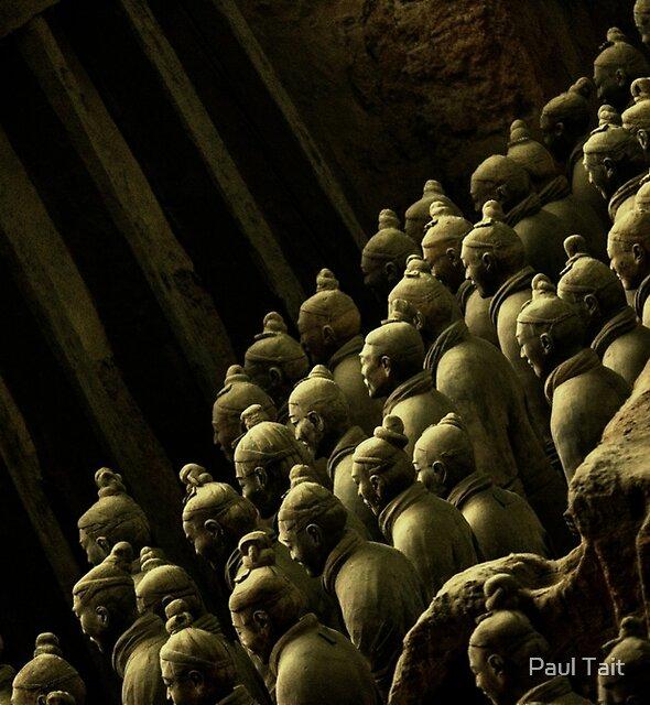Terracotta Warriors, Xi'an by Paul Tait