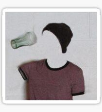 The Invisible Girl Sticker