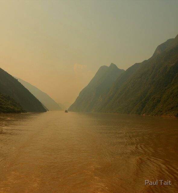 Yangstze River, China by Paul Tait