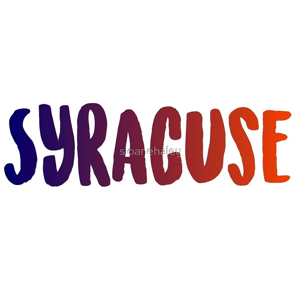 Syracuse college by sloanehaley