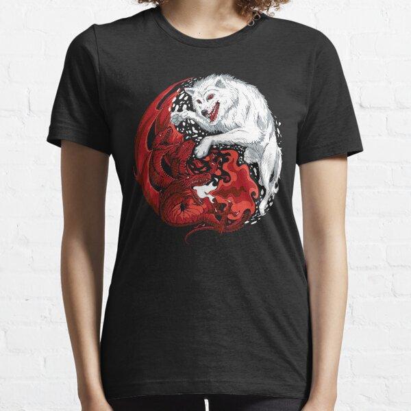 Dragon et loup T-shirt essentiel