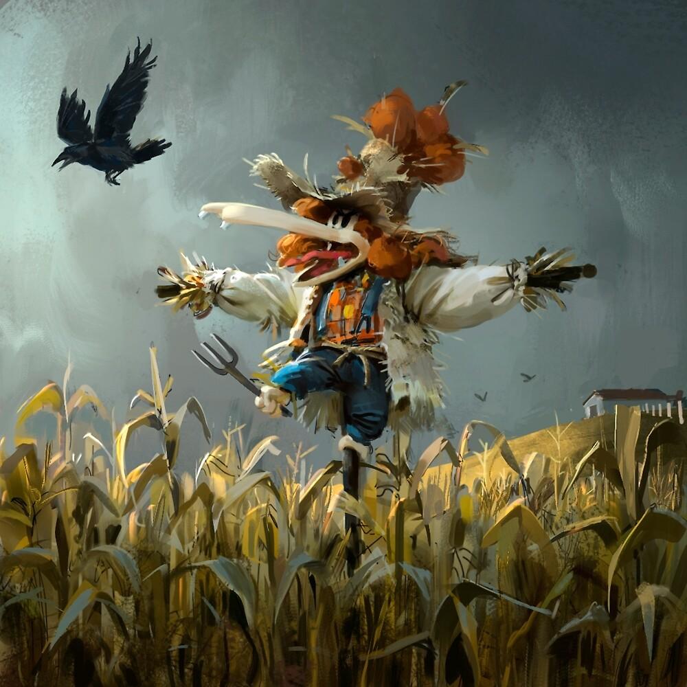 Tzika - scarecrow by tzika