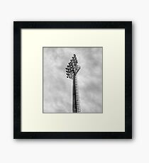 Stadium Floodlights Framed Print