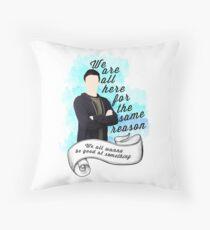 Finn Hudson Glee Throw Pillow