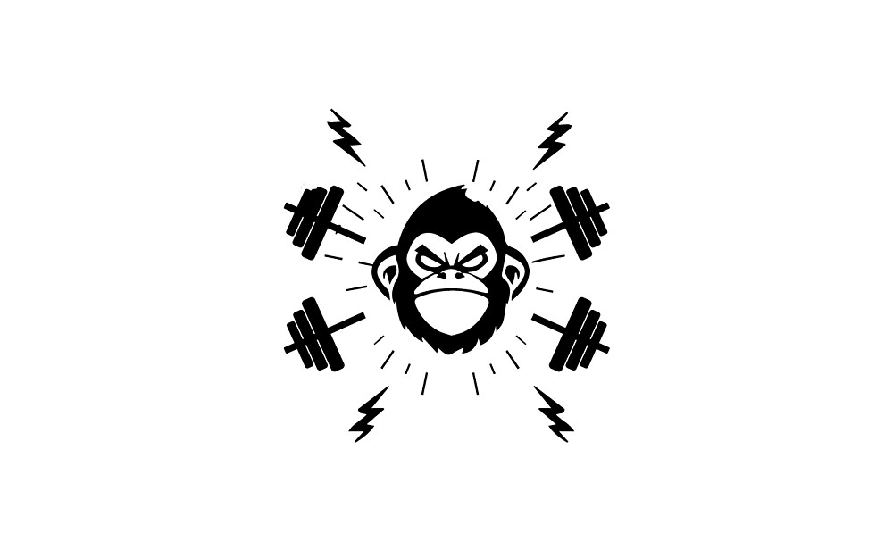 victorious monkey by ironmonkeyking