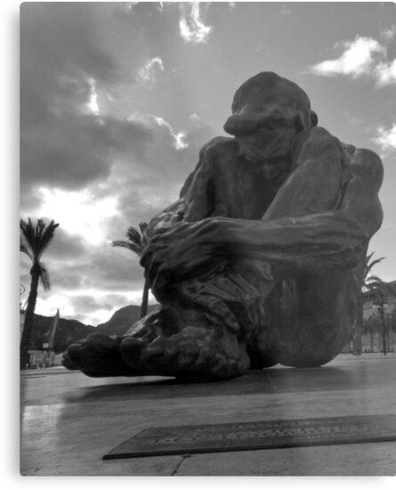 El Zulo Sculpture   Cartagena Spain by agentgreen