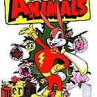RETRO lustige Tiere Bunny Vintage von MaskedMarvel