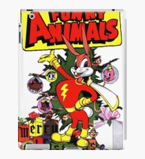 RETRO Funny Animals Bunny Vintage iPad Case/Skin