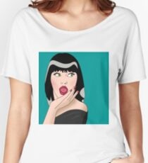 cool woman  Women's Relaxed Fit T-Shirt