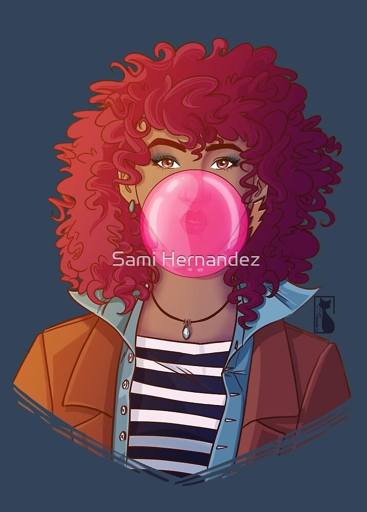 Bubble Gum by Sami Hernandez