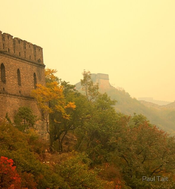 The Great Wall, China by Paul Tait