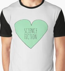 Science Fiction Love Graphic T-Shirt
