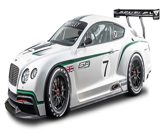 """Bentley Continental Gt3 R: """"Bentley Continental GT3 R"""" Posters By Whomadewhat"""