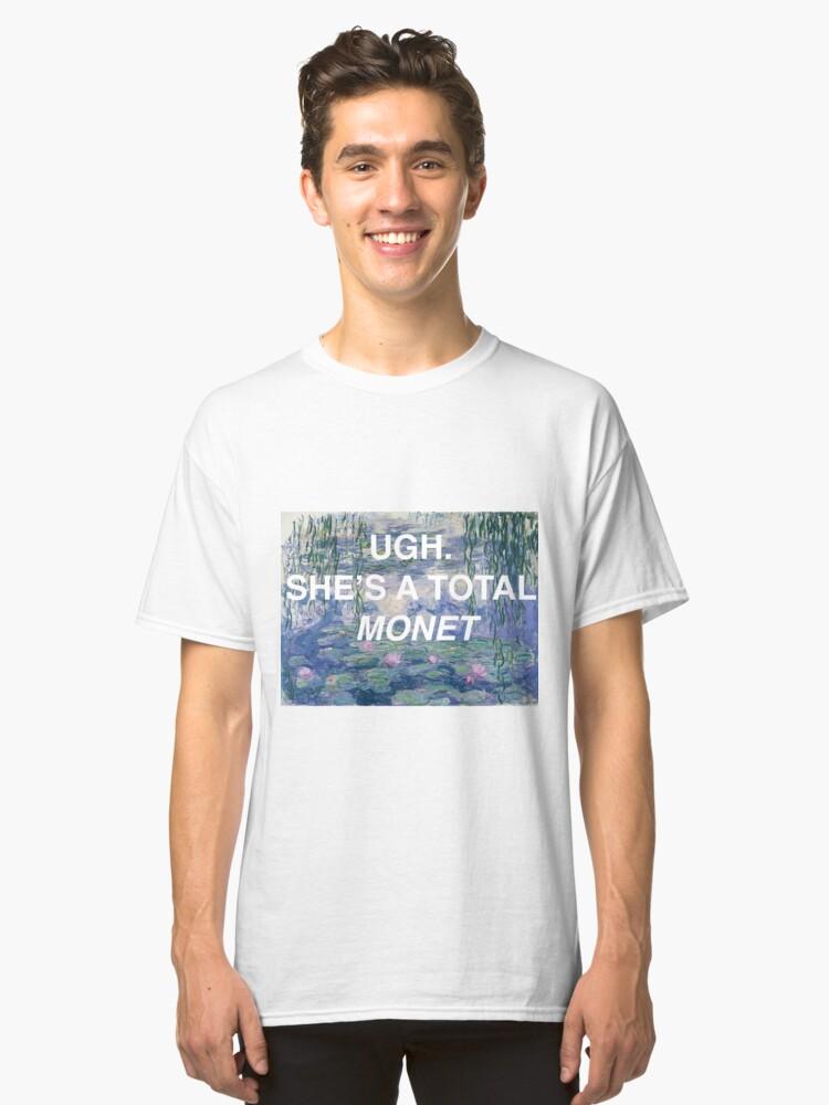 A Total Monet  Classic T-Shirt Front