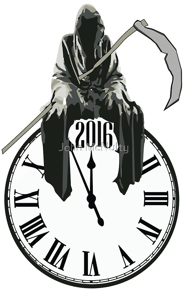 Reaper On The Clock by John McNulty