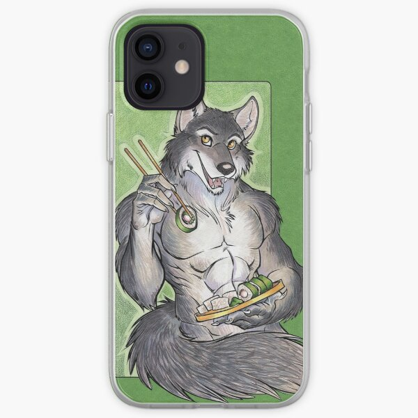 Sushi Wolf Iphone Cover iPhone Soft Case