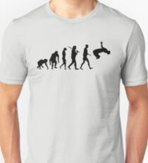 Parkour Evolution Free Running parkour Unisex T-Shirt
