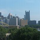 Pittsburgh from Heinz Field by Jamie Savatt