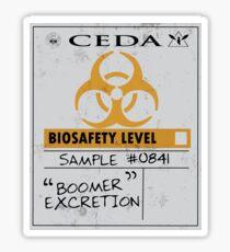 Bile Bomb Sticker