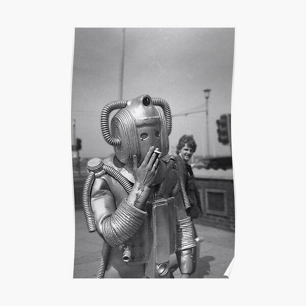 Cyberman fumeurs Poster