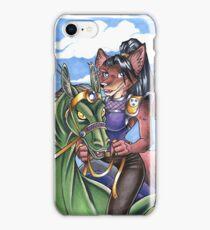 Dragon Rider Fox iPhone Case/Skin