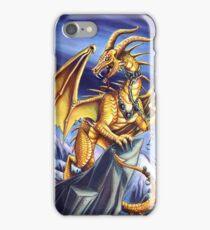 Gold Sky Dragon Iphone Case iPhone Case/Skin