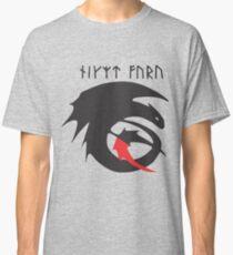 Strike Class Dragon Symbol Drachenzähmen leicht gemacht Classic T-Shirt